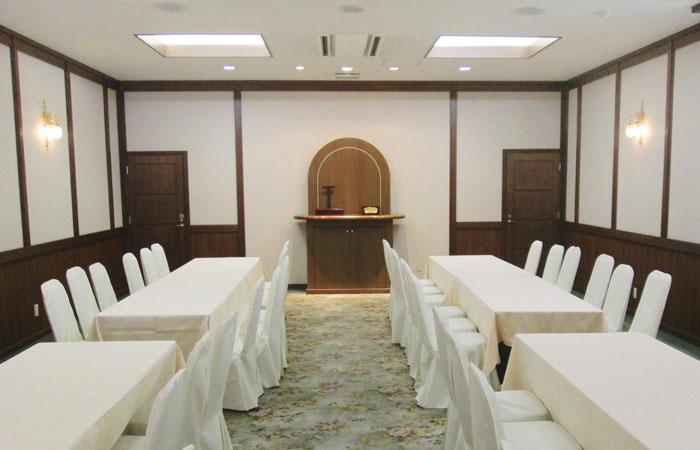 ドリーマー今治吹揚葬祭館法要室2|愛媛県今治市の葬儀式場|株式会社ドリーマー