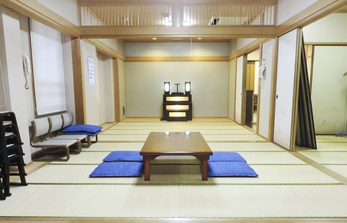 ドリーマー加茂川葬祭館控室2|愛媛県西条市の葬儀式場|株式会社ドリーマー