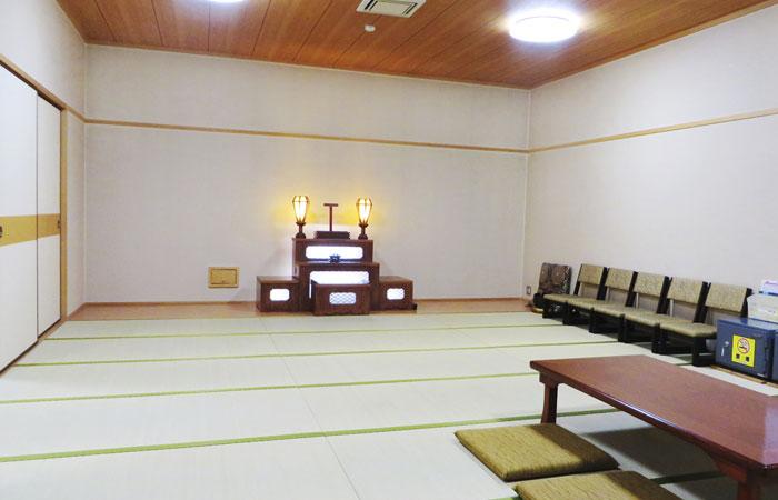 ドリーマー川東葬祭館控室1|愛媛県新居浜市の葬儀式場|株式会社ドリーマー