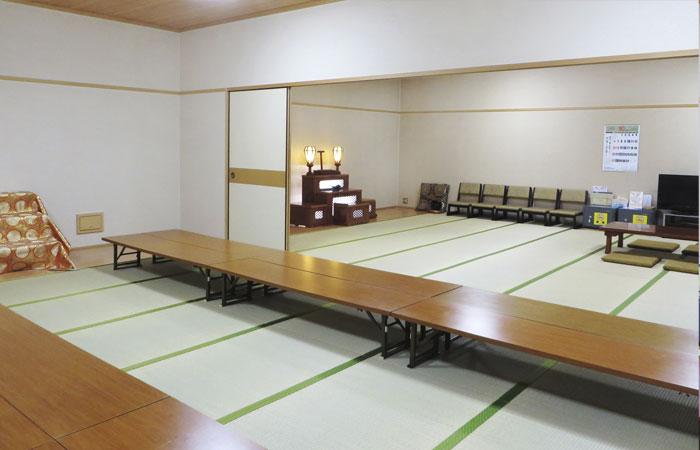 ドリーマー川東葬祭館控室2|愛媛県新居浜市の葬儀式場|株式会社ドリーマー
