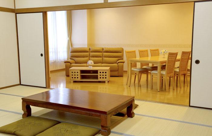 ドリーマー松山葬祭館控室1|愛媛県松山市の葬儀式場|株式会社ドリーマー