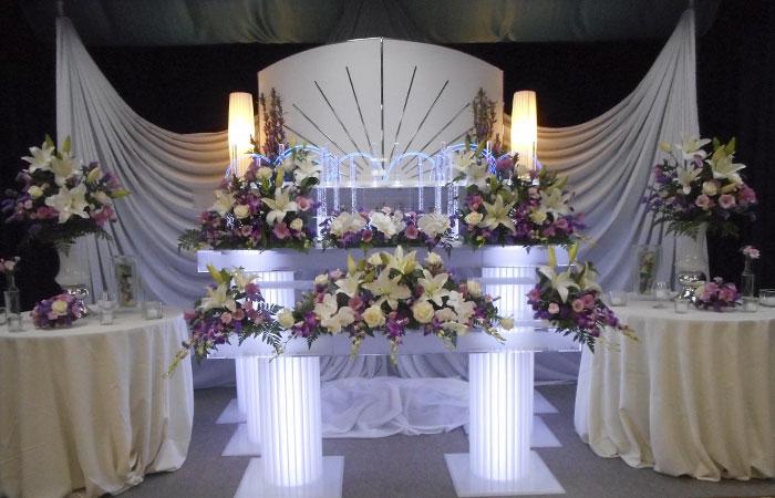 ドリーマー松山葬祭館祭壇4|愛媛県松山市の葬儀式場|株式会社ドリーマー