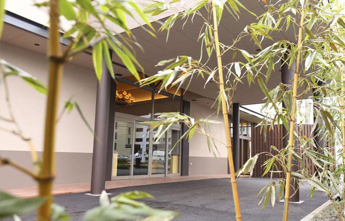 家族葬ホール夢想庵外観2|愛媛県松山市の葬儀式場|株式会社ドリーマー