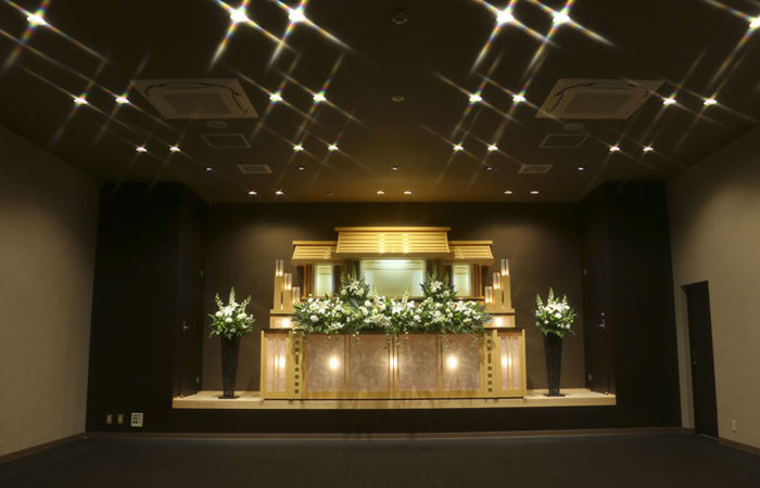 家族葬ホール夢想庵ホール|愛媛県松山市の葬儀式場|株式会社ドリーマー