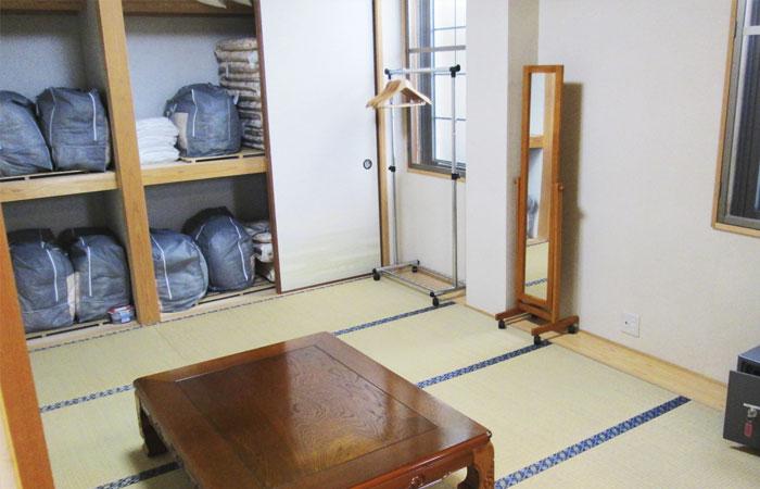 ドリーマー今治中寺葬祭館控室2|愛媛県今治市の葬儀式場|株式会社ドリーマー