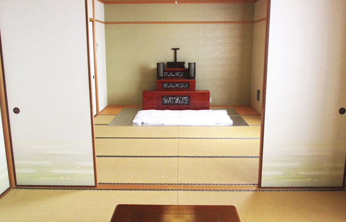 ドリーマー今治中寺葬祭館控室3|愛媛県今治市の葬儀式場|株式会社ドリーマー