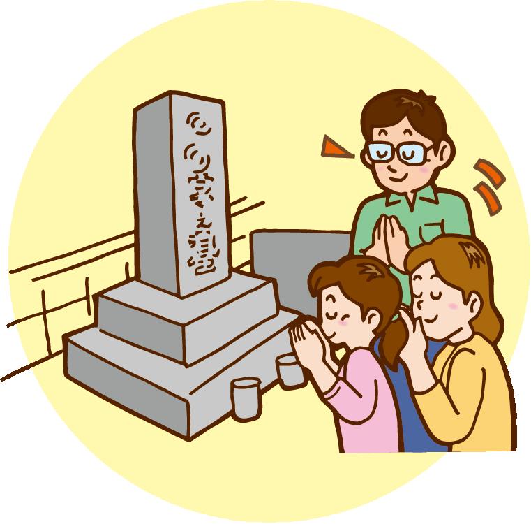 お墓参り代行サービスイメージ